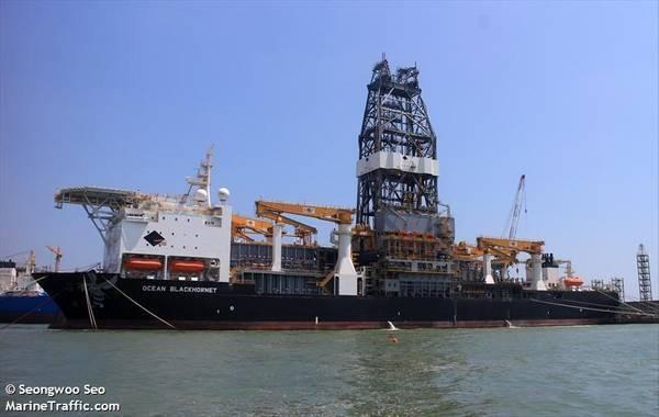 A Diamond Offshore drillship - Seongwoo Seo/MarineTraffic.com