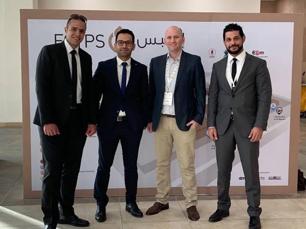 Drexel Crewing Manager Ahmed Abelnasser, Drexel Operations Manager Mahmoud Eissa, Rovco CEO Brian Allen, Drexel Business Development Manager Bassem Emam (Photo: Rovco)