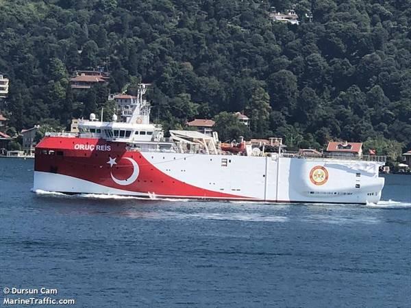 Oruc Reis - Dursun Cam / MarineTraffic.com