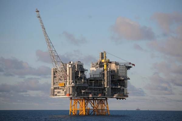 Edvard Grieg oil and gas production platform (Photo: Lundin)