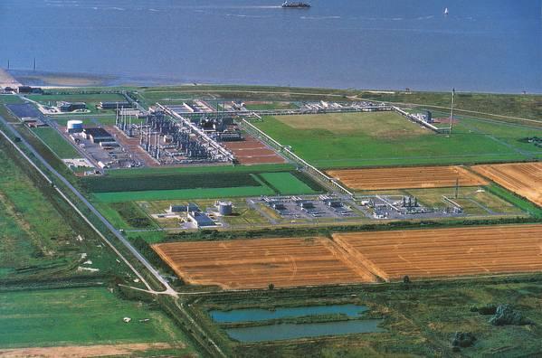 Emden terminal (Photo: Gassco)