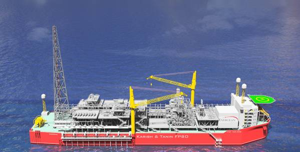 The Energean Power FPSO (Image: Energean Power)