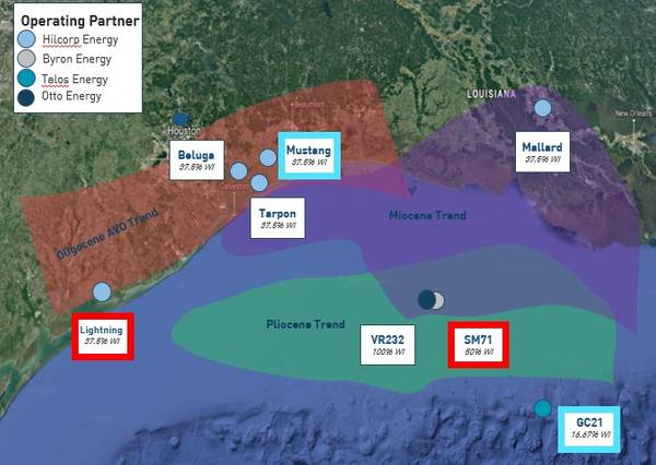 Otto Energy's Gulf of Mexico assets