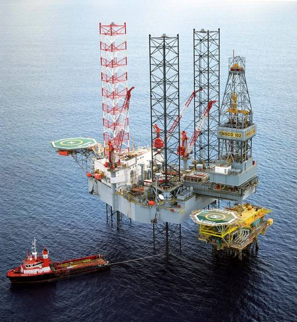 ENSCO 102 is a premium rig designed and built by Keppel FELS Limited. Photo: Keppel Offshore & Marine