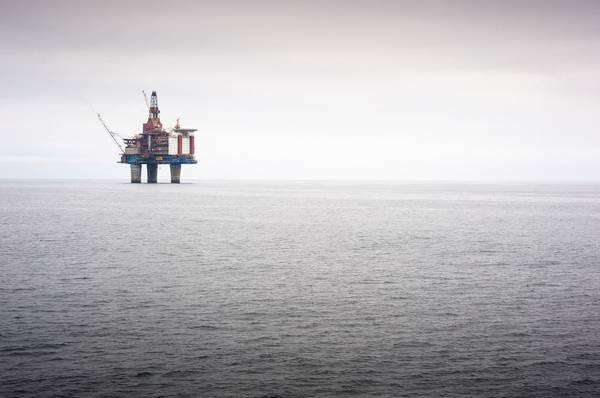 An Equinor offshore platform - Image by Ole Jørgen Bratland - Equinor