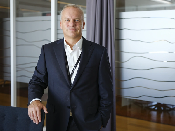 Equinor's New CEO Anders Opeda - Image by Ole Jørgen Bratland