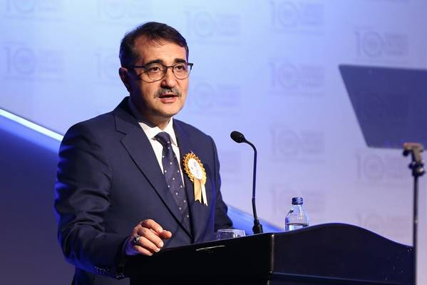 Fatih Dönmez (Photo: Turkey Ministry of Energy and Natural Resources)