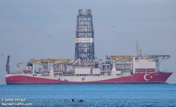 Fatih Drillship - Credit:Safak Dorgul/MarineTraffic