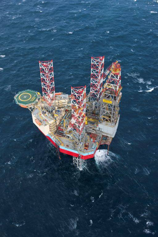 The first scope of a five-year contract will see TWMA provide drilling waste management services on the harsh-environment jack-up rig Maersk Resolve - Image: Maersk Resolve/Credit; Maersk Drilling