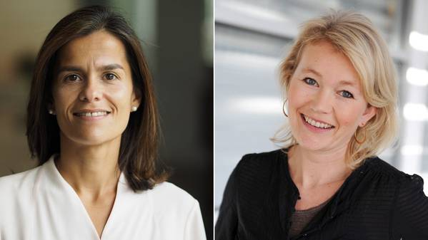 Ana Fonseca Nordang (left) will take over the position as SVP People & Leadership, and Siv Helen Rygh Torstensen will take over as General Counsel. (Photos: Equinor)