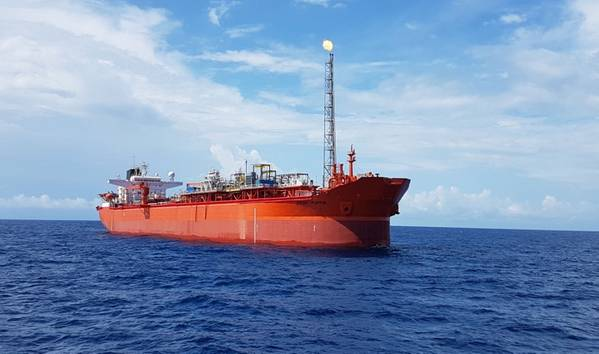 Front Puffin FPSO at the Aje field in which ADM owns a share - Credit: ADM Energy