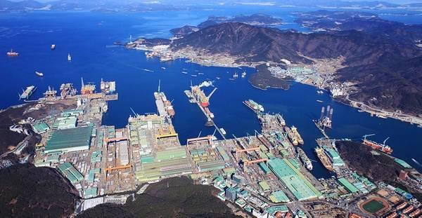 Geoje Shipyard. Photo: Samsung Heavy Industries