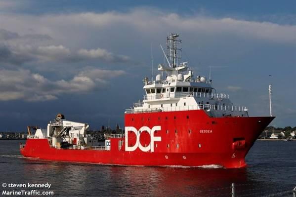 Geosea vessel - Image by steven kennedy - MarineTraffic