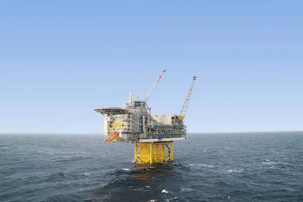 The Gjegnalunden prospect is about 12km away from Aker BP's Ivar Aasen platform and complements the Orkja prospect in PL818 - Image: Ivar Aasen platform / File Photo: Aker BP