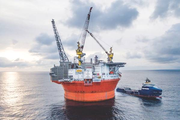 The Goliat oil field has been producing for nearly four years. (Photo: Vår Energi)
