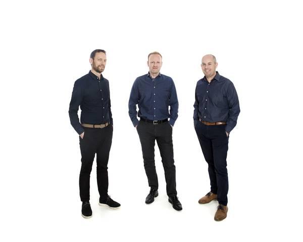 The GoSubsea leadership team from L-R: Oddbjørn Flisnes (Technical Manager), Helge Knutsen (General Manager) and Odd Olav Sjøen (Workshop Manager).