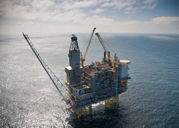 The Grane Platform (Photo: Oyvind Hagen, Equinor)