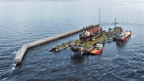 Greater Tortue's FLNG solution. (Image: BP)