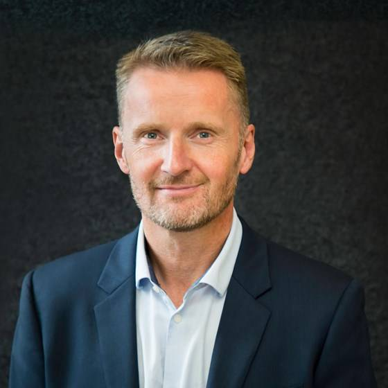 Gunnar Larsen will serve as interim CEO until a permanent replacement is hired (Photo: Havyard Group)