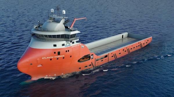 A Havyard 833 WE platform supply Vessel - Credit: Havyard