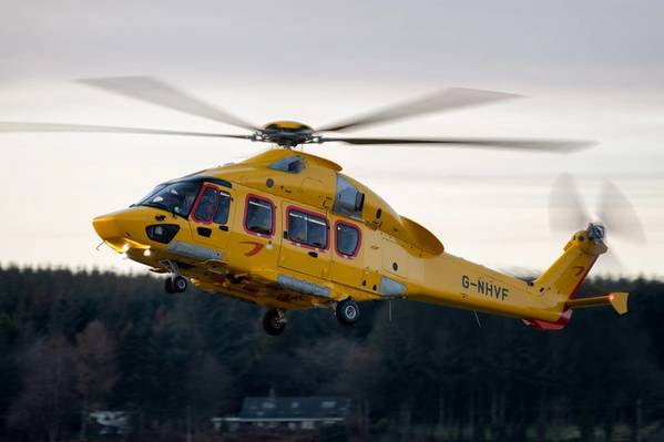 H175 helicopter (credit Lloyd Horgan)