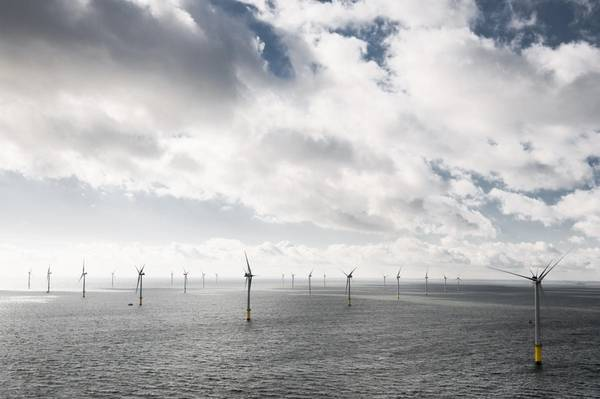 Humber Gateway Offshore WInd Farm - Credit: RWE