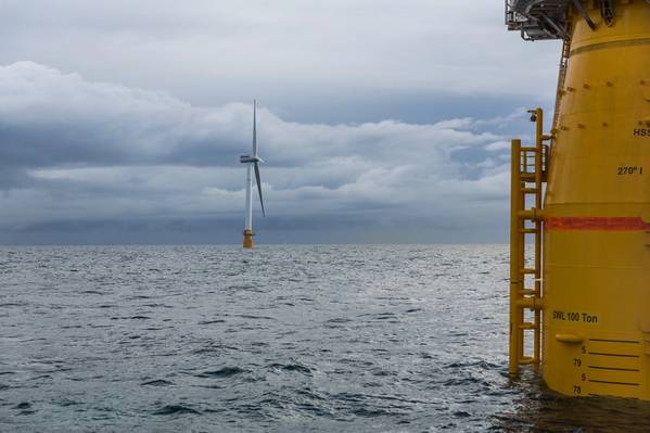 Hywind Scotland floating offshore wind farm (Credit Equinor)