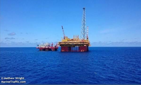 Ichthys Explorer CPF offshore Australia - Image Credit: Mathew Wright/MarineTraffic