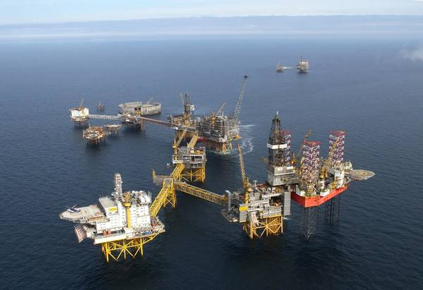 For illustration only; ConocoPhillips' Ekofisk field offshore Norway -Credit: ConocoPhillips