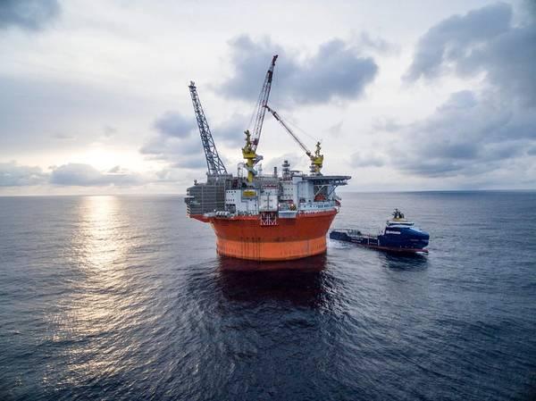 Illustration - Vår Energi's Goliat platform in the Barents Sea / Credit: Vår Energi