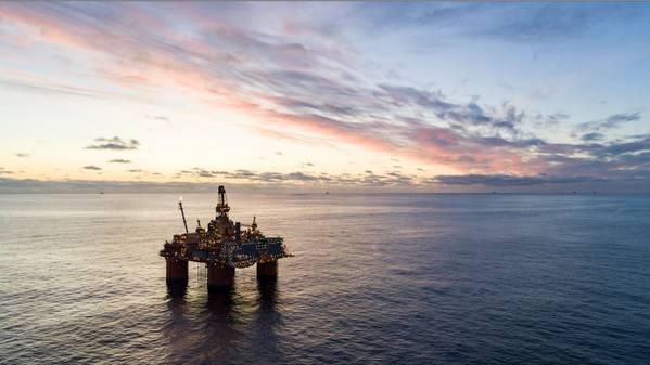 Illustration only; An Equinor Platform - Credit: Equinor - Photo by Bo B. Randulff & Even Kleppa