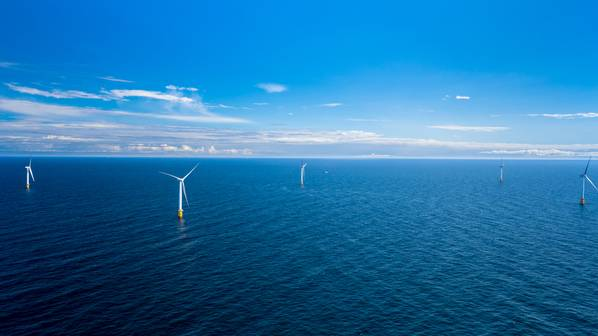 Illustration: Equinor's Hywind Scotland Wind Farm / Credit: Øyvind Gravås / Woldcam / via Equinor