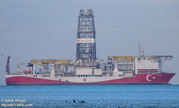For illustration - Fatih, one of TPAO's drillships/ Credit: Safak Dorgul/MarineTraffic.com