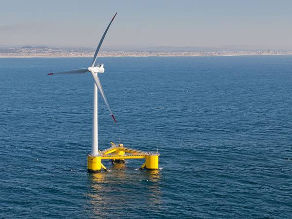 For illustration only - A floating wind turbine - credit:Untrakdrover/Wikimedia Commons - CC BY-SA 3.0