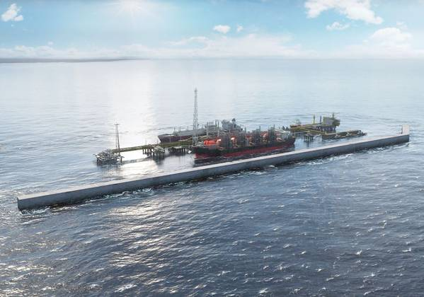 For Illustration; Golar is to deliver an FLNG unit for BP's Tortue Ahmeyim development in Senegal/Mauritania offshore zone - Image Credit: BP