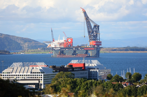 For illustration; Heerema Marine Contractors' semi-submersible crane vessel - Credit:Tupungato/AdobeStock