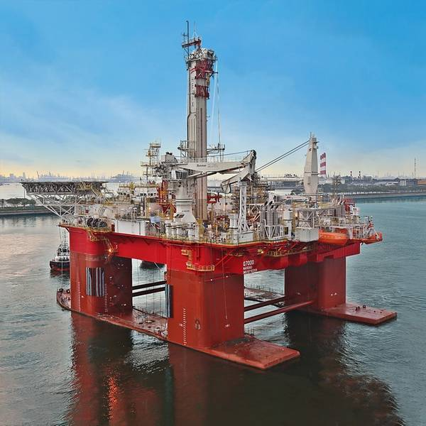 Illustration - A Helix offshore well intervention rig - Photo - Sembcorp Marine via Helix Energy Solutions