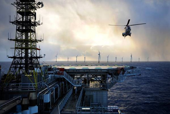 Illustration of the Hywind Tampen project (Image: Equinor)