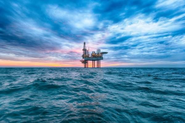 Illustration; A jack-up drilling rig - Credit: Lukasz Z, AdobeStock