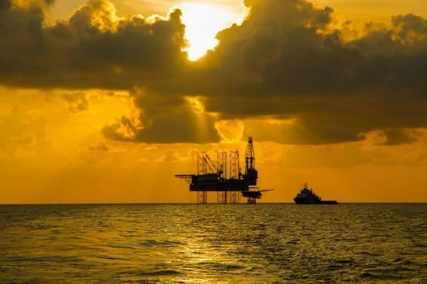 Illustration; Jack-up drilling rig - Credit: xmentoys/AdobeStock