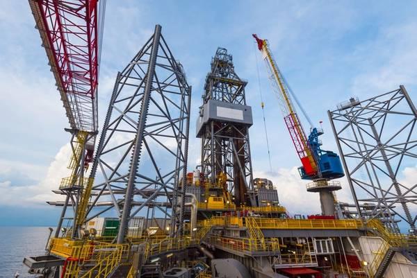 Illustration only: A jack-up drilling rig - Image by / nakaret4
