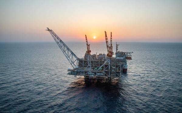 For Illustration: Leviathan field offshore Israel (Credit: Noble Energy)