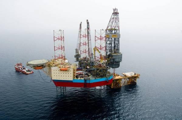 Illustration; A Maersk Drilling rig - Credit: Maersk Drilling