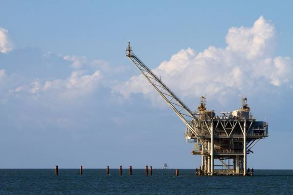 Illustration; A Gulf of Mexico platform - Credit: sframe