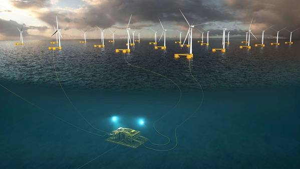 Illustration by Aker Offshore Wind
