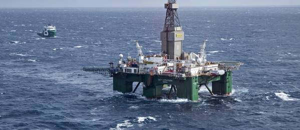 Illustration: An offshore drilling rig / Image source: Lundin Norway