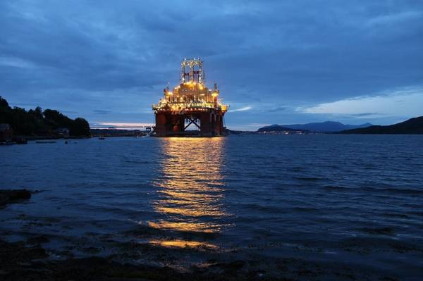 Illustration: An offshore drilling rig in Norway -Credit: Tupungato/AdobeStock