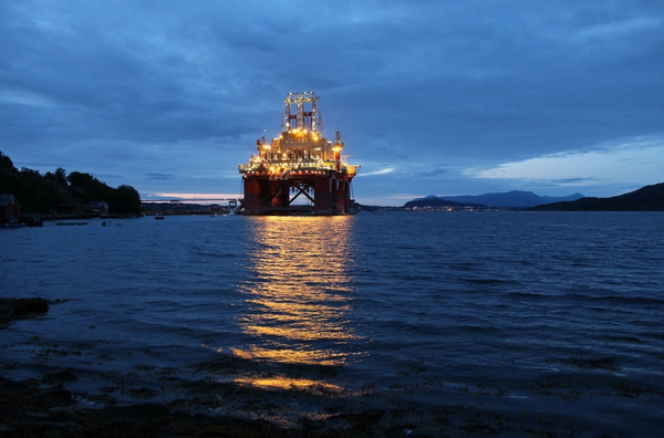 Illustration: An Offshore Drilling Rig in Norway/Credit: Tupungato/AdobeStock