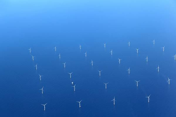 Illustration; An offshore wind farm - Image by diak / AdobeStock