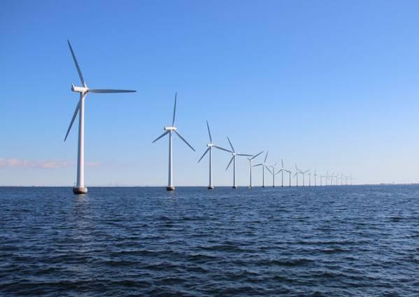 Illustration: Offshore Wind Farm -   image by: chrisrt / Adobe Stock